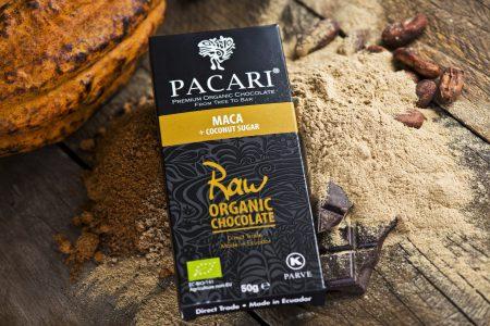 Chocolat CRU 70% + MACA au sucre de Coco