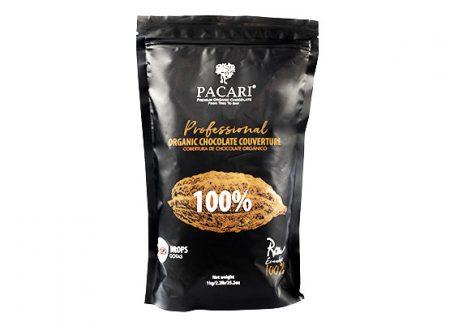 CHOCOLAT CRU DE COUVERTURE à 100%