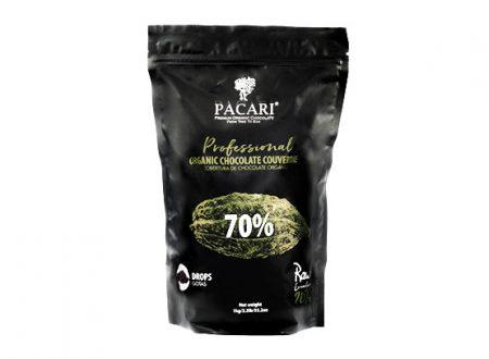 COUVERTURE DE CHOCOLAT CRU à 70%